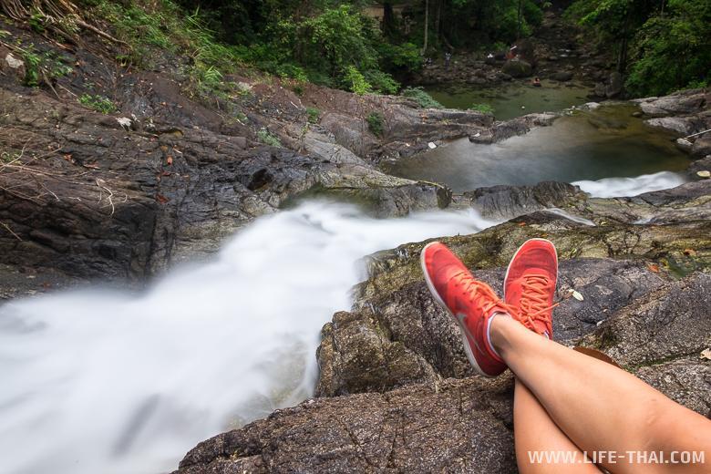 Водопад Лампри, провинция Пхангна, Таиланд