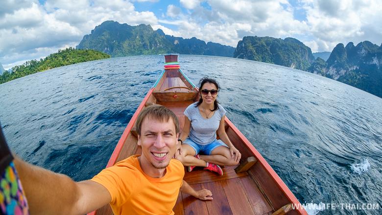 Мы на озере Чеолан в Таиланде