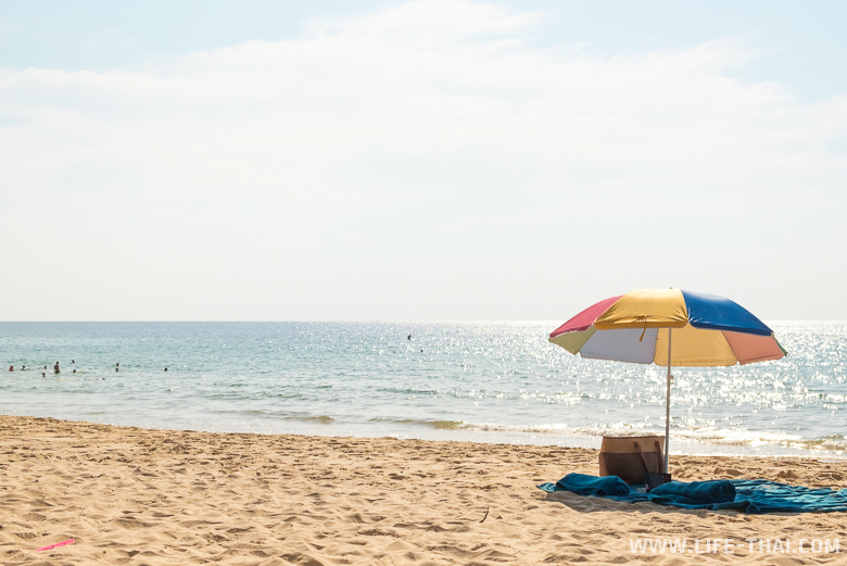 Пляж на острове Пхукет, Таиланд