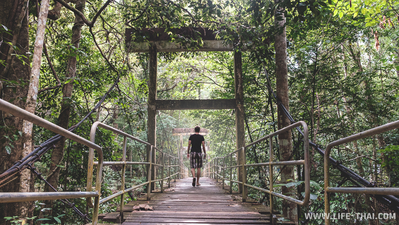 Водопад Лампи, достопримечательности провинции Пханг На, Таиланд