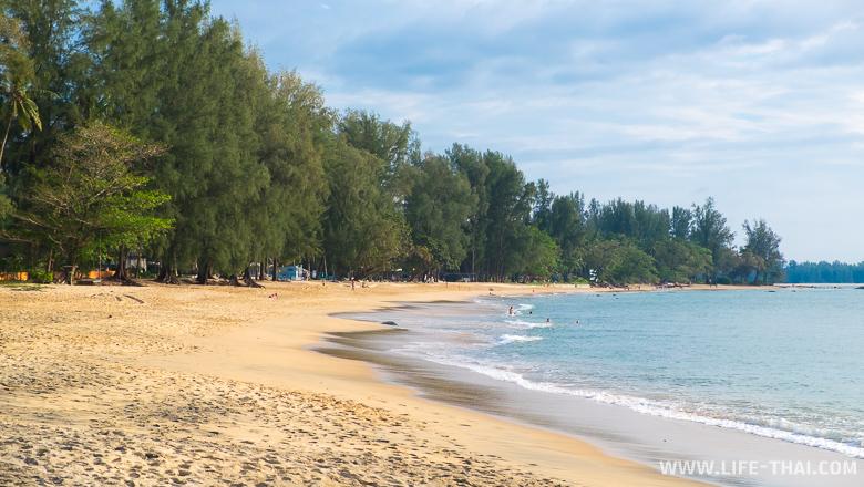 Пляжи Као Лака, пустынные и красивые