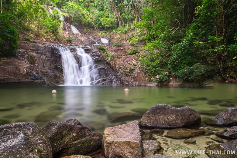 Водопад Лампи в провинции Пханг На. Что посмотреть недалеко от Пхукета