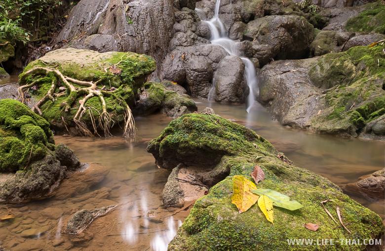Водопад Санангманора в провинции Пханг Нга