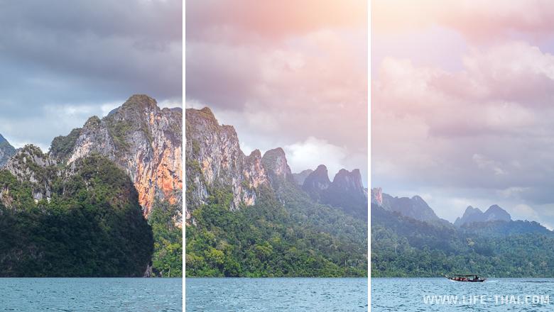 Озеро Чео Лан, экскурсия на озеро, нац. парк Као Сок