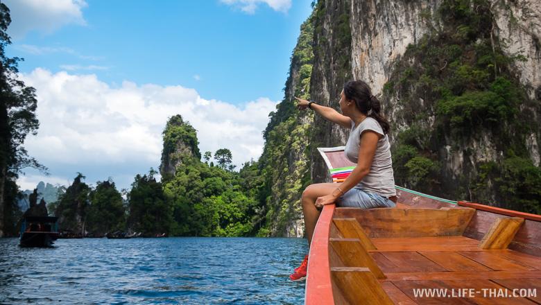Сейчас Чео Лан - главная достопримечательность национального парка Као Сок.