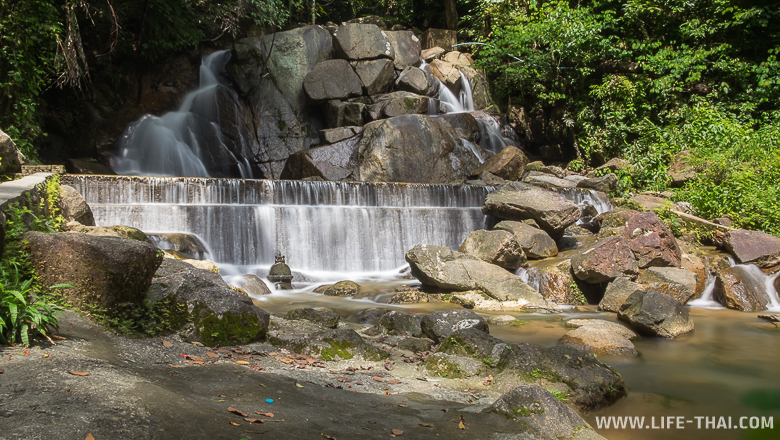 Водопад Кату, первая ступень. Пхукет, Таиланд