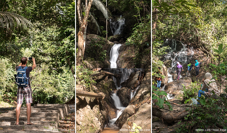 Водопад Тон Саи на Пхукете