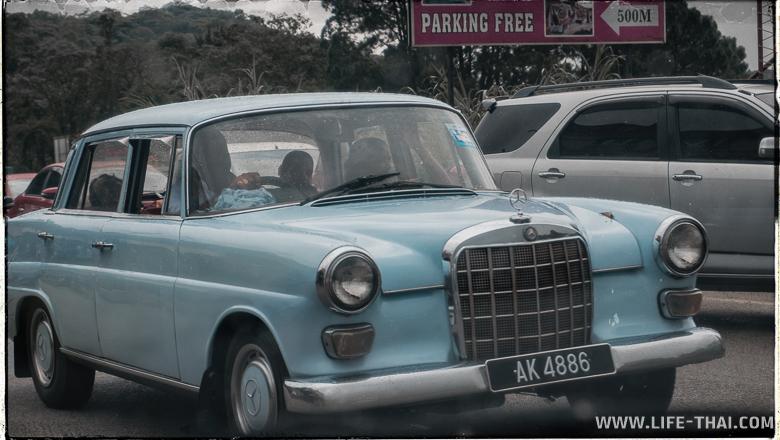 Транспорт в Камерон Хайлендс, Малайзия