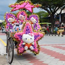 Велорикши в Малакке - особая достопримечательность