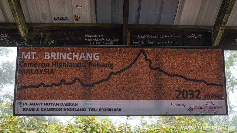 Гора Бринчанг, Малайзия