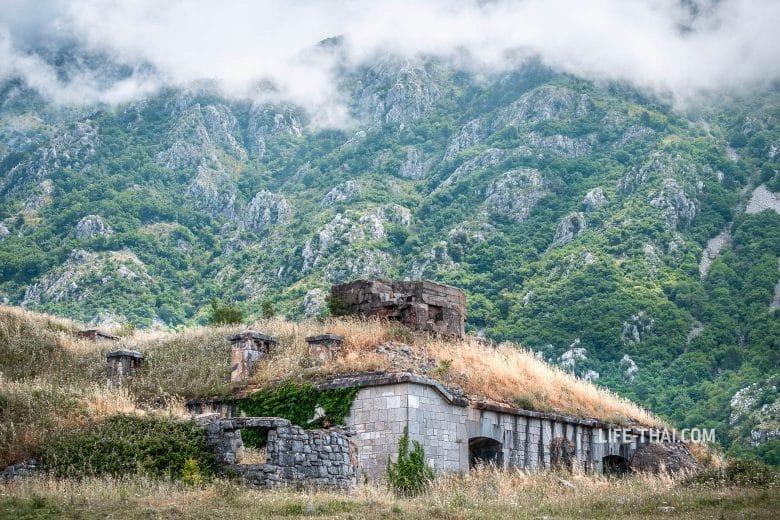 Форт Горажда - одно из интересных мест в Черногории