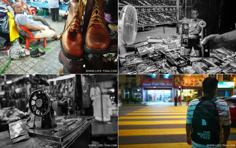 Базарный стрит в Куала Лумпуре, Малайзия