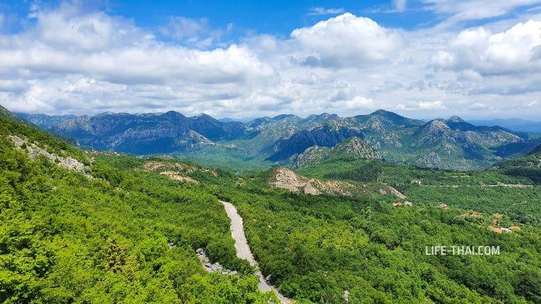Куда поехать на машине в Черногории на 1 день