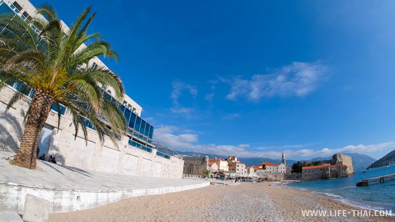 Пляж Ричардова Глава в Будве, Черногория