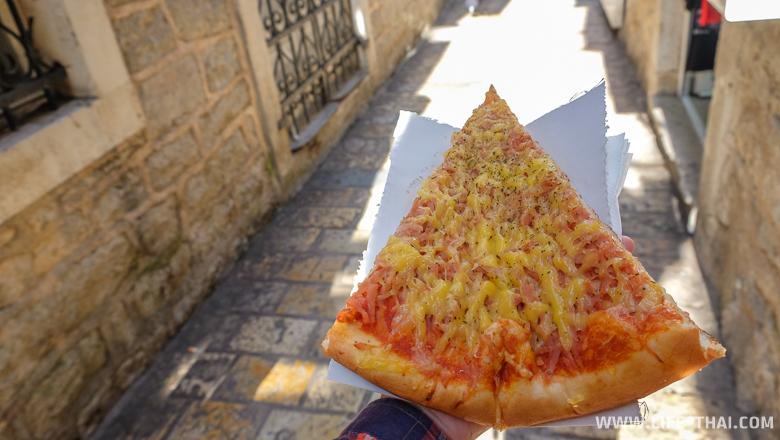 Пицца в Старом городе Будвы