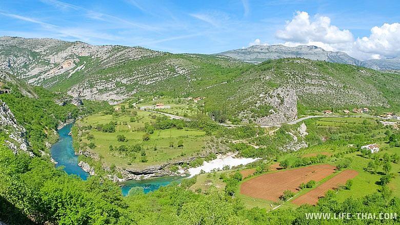 Самые красивые места в Черногории - каньоны рек Тара и Морача