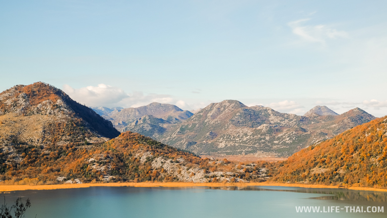 Скадарское озеро и окресности, достопримечательности Черногории