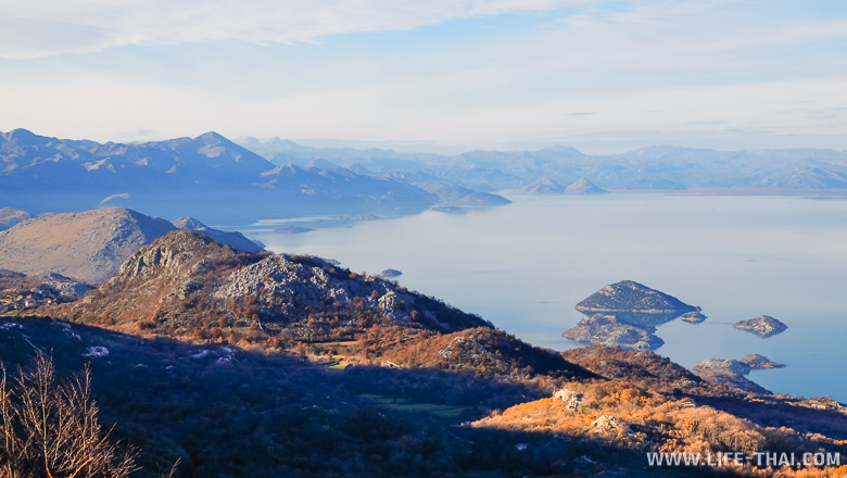 Граница Черногории и Албании