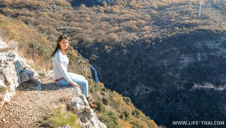 Смотровая над Свети Стефаном, малоизвестные места в Черногории
