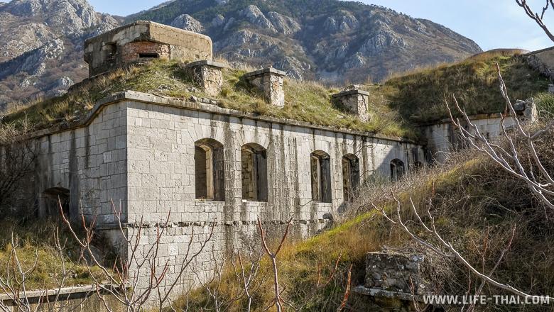 Старый австрийский форт Горажда, Черногория