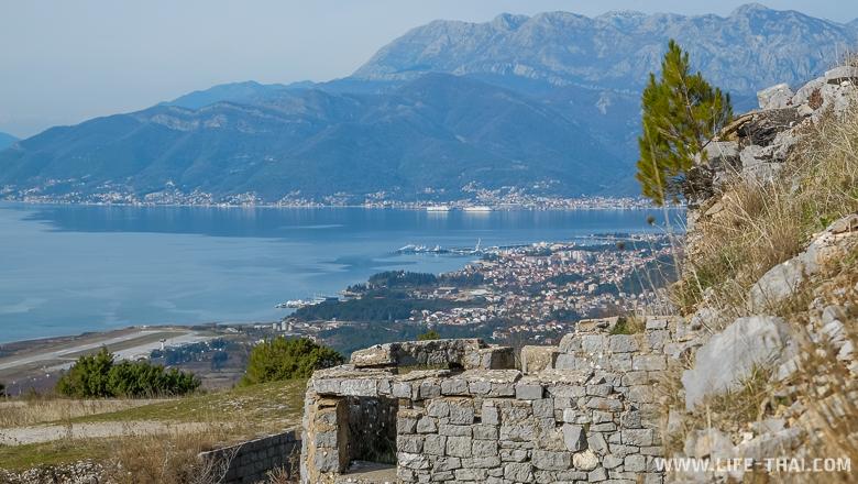 Интересные места в Черногории - Старый австрийский форт Горажда, Черногория