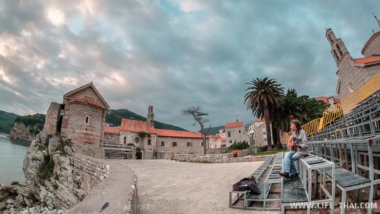 Старый город в Будве, достопримечательности Черногории