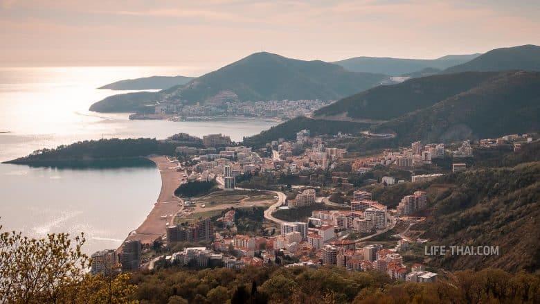 Бечичи - курортный поселок в Черногории для отдыха у моря