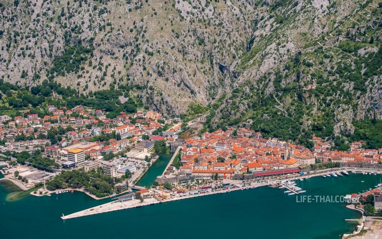 Котор - курорт в Черногории для отдыха у моря