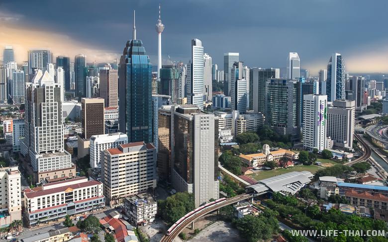 Панорама города - принятое фото