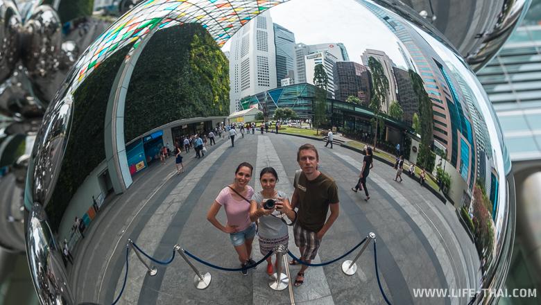 CBD - деловой район в Сингапуре