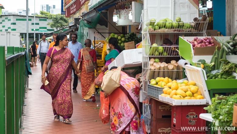 Идийский квартал в Сингапуре - Маленькая Индия