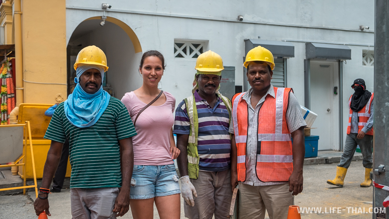 Строители из Бангладеша