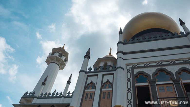 Мечеть в Сингапуре в Арабском квартале