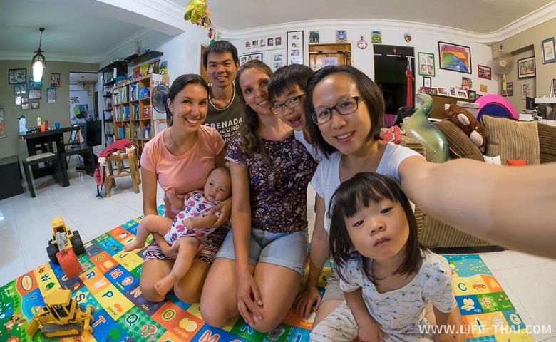 Мы в гостях у сингапурских друзей