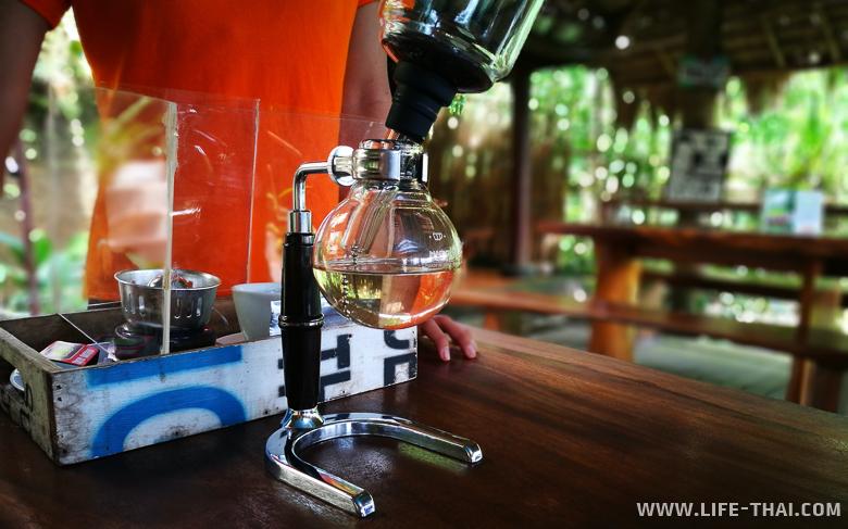Так заваривают кофе Лювак