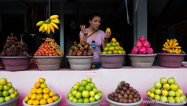 Фрукты на севере острова Бали дешевле, чем на юге