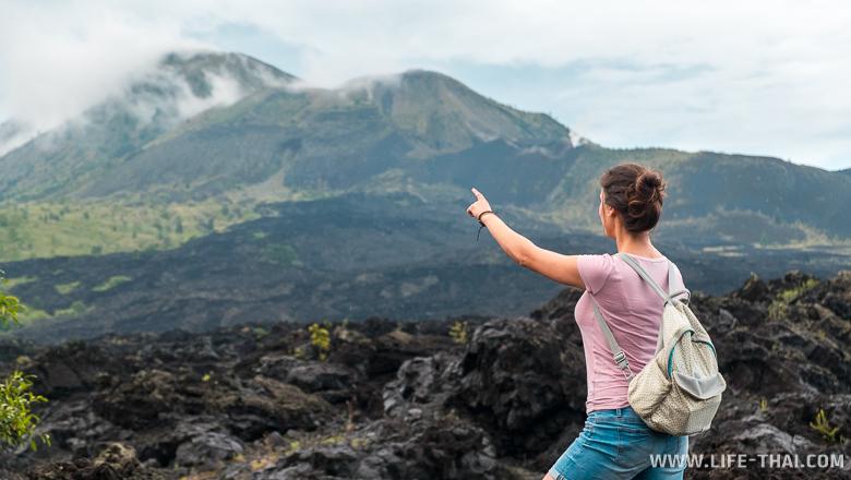 Вулкан Батур, грозный и прекрасный. Остров Бали, фото