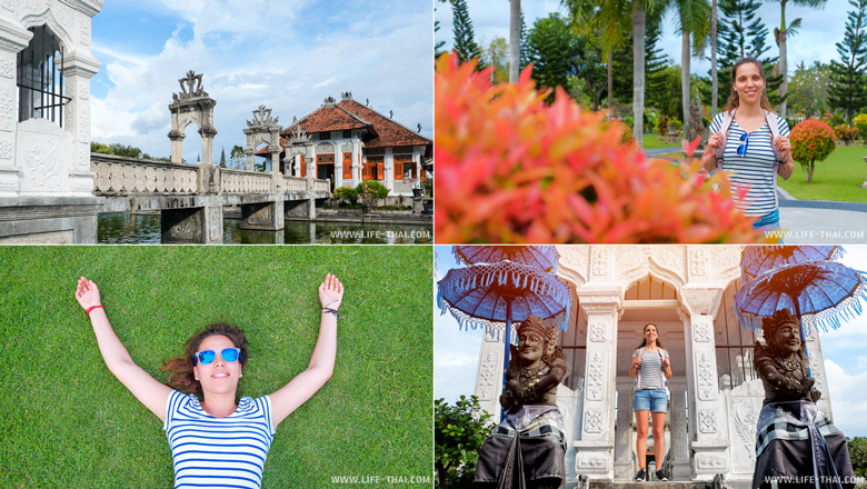 Водный дворец на Бали, Индонезия