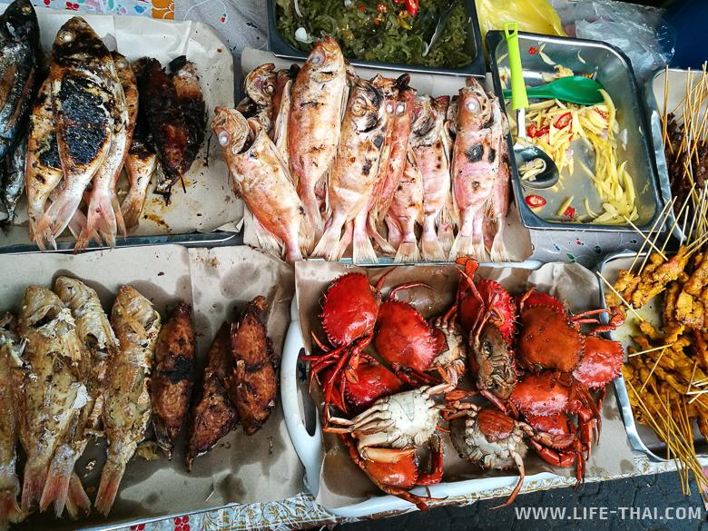Еда на Борнео, Малайзия