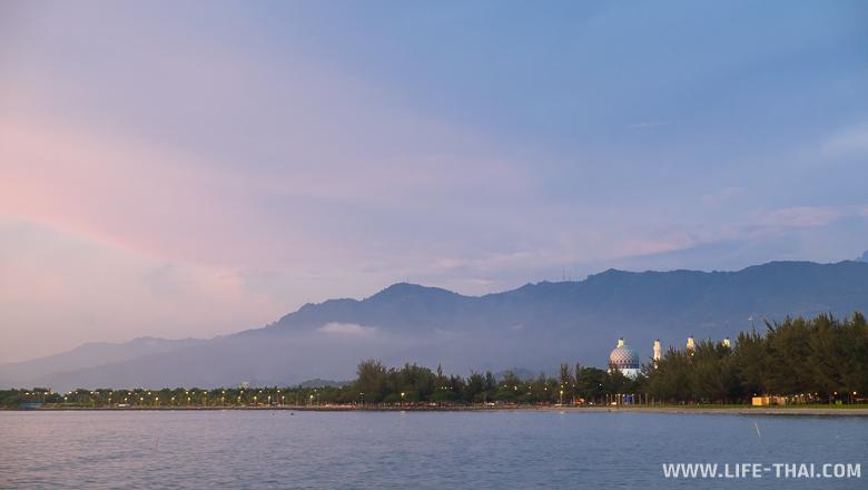 Фото Кота-Кинабалу на закате, Малайзия
