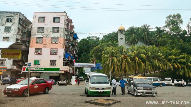 Фото Кота-Кинабалу: улицы города