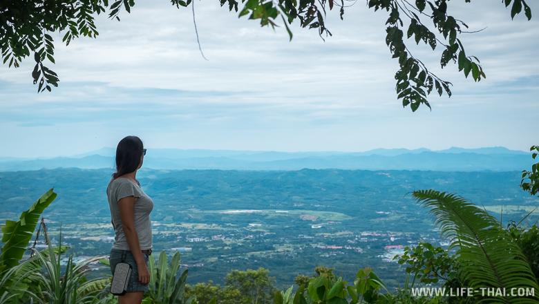Я любуюсь видом на Борнео, Малайзия