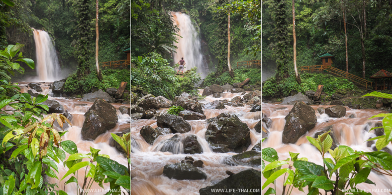 Водопад Махуа, остров Борнео, Малайзия