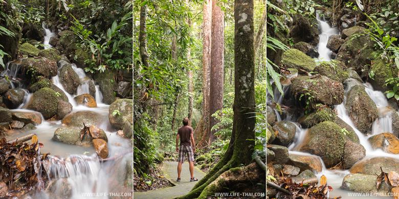 Водопад Махуа - достопримечательность Борнео, Малайзия