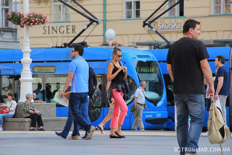 Люди в Хорватии - типичные люди Балкан