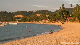 Пляж Банграк - тихий район Самуи, где лучше арендовать жильё надолго