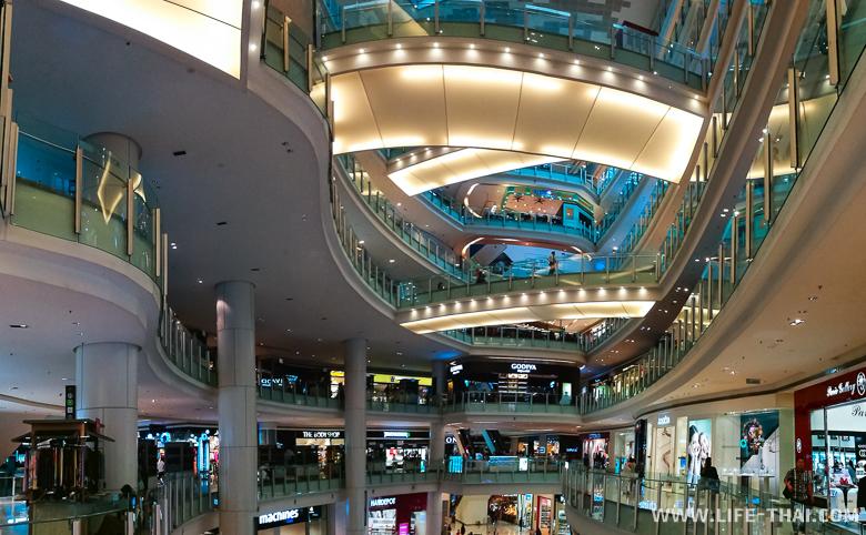 Торговый комплекс NU Sentral около автостанции KL Sentral в Куала Лумпуре
