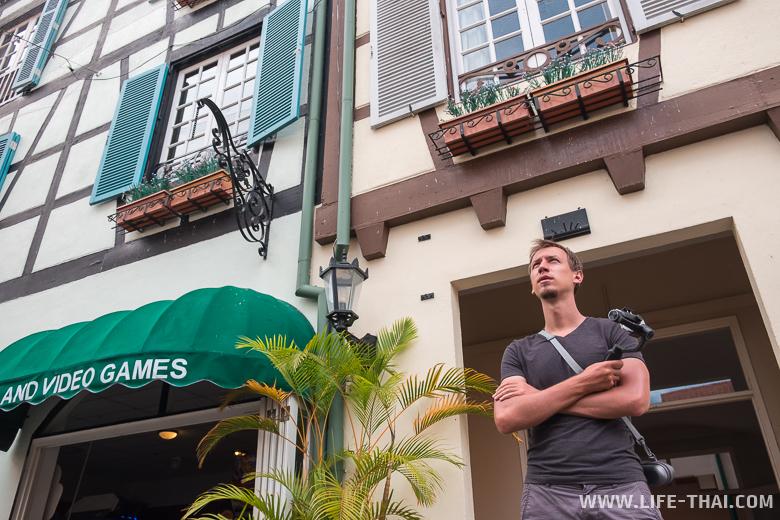 Кольмар - город-копия французской деревни в Малайзии