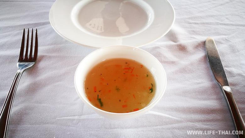 Кисельный суп - питание на борту корабля