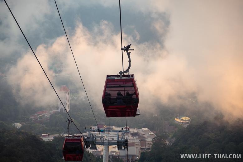 Канатная дорога в Гентинг Хайлендс, Малайзия